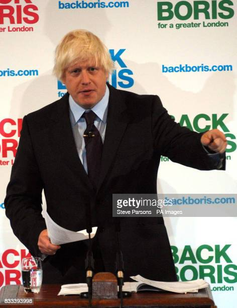 Boris Johnson launches his campaign to be the Tories' candidate for Mayor of London declaring that the capital's residents deserved a 'better return...