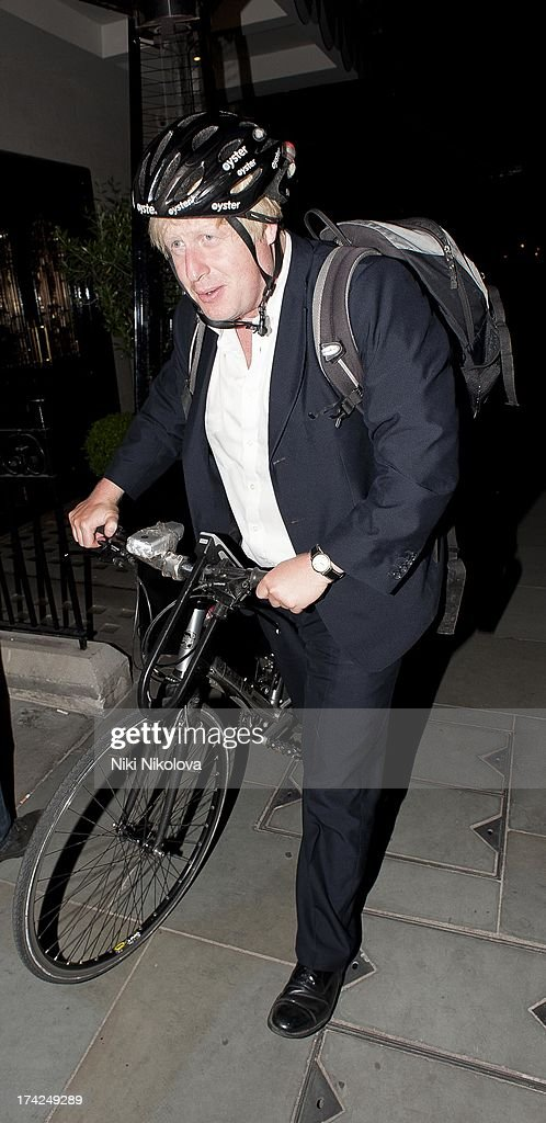 <a gi-track='captionPersonalityLinkClicked' href=/galleries/search?phrase=Boris+Johnson&family=editorial&specificpeople=209016 ng-click='$event.stopPropagation()'>Boris Johnson</a> leaving Scotts Restaurant, Mayfair on July 22, 2013 in London, England.