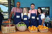 Celebrity Friends Of Feeding America Volunteer At The...