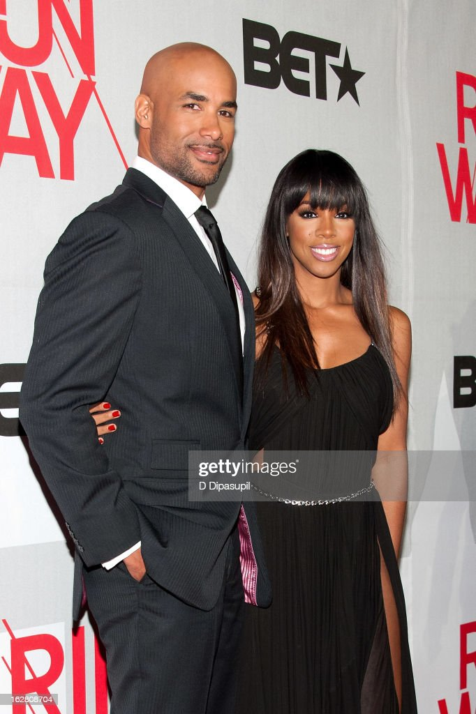 <a gi-track='captionPersonalityLinkClicked' href=/galleries/search?phrase=Boris+Kodjoe&family=editorial&specificpeople=240156 ng-click='$event.stopPropagation()'>Boris Kodjoe</a> (L) and <a gi-track='captionPersonalityLinkClicked' href=/galleries/search?phrase=Kelly+Rowland&family=editorial&specificpeople=201760 ng-click='$event.stopPropagation()'>Kelly Rowland</a> attend BET's Rip The Runway 2013 at Hammerstein Ballroom on February 27, 2013 in New York City.