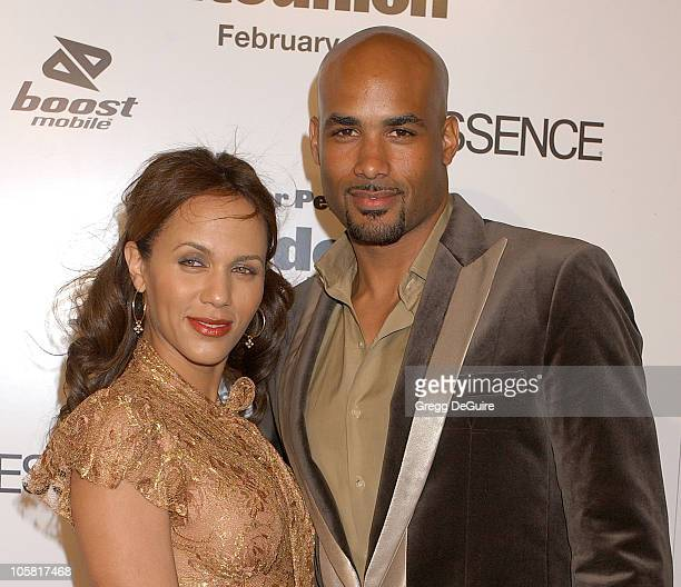 Boris Kodjoe and wife Nicole Ari Parker during 'Madea's Family Reunion' Los Angeles Premiere Arrivals at ArcLight Cinemas in Hollywood California...