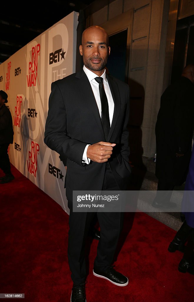 <a gi-track='captionPersonalityLinkClicked' href=/galleries/search?phrase=Boris+Kodjoe&family=editorial&specificpeople=240156 ng-click='$event.stopPropagation()'>Boris Kodjoe</a> attends BET's Rip The Runway 2013 at Hammerstein Ballroom, on February 27, 2013, in New York City.