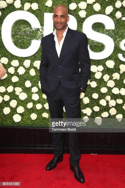 Boris Kodjoe attends the 2017 Summer TCA Tour CBS Television Studios' Summer Soiree at CBS Studios Radford on August 1 2017 in Studio City California