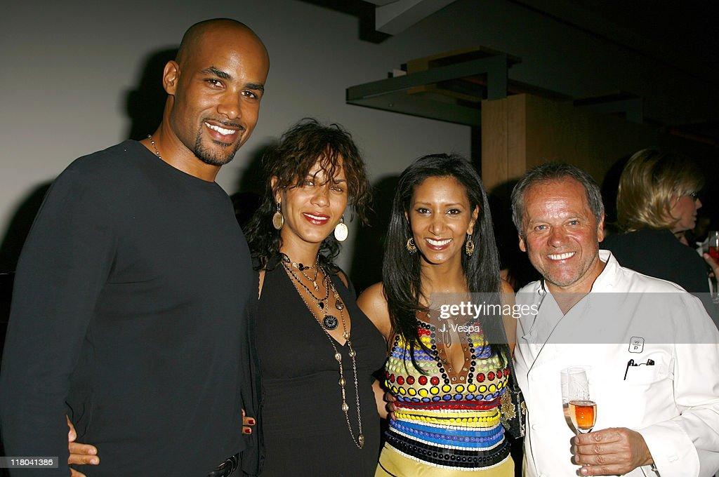 Boris Kodjoe Nicole Ari Parker Gelila Assefa and Wolfgang Puck