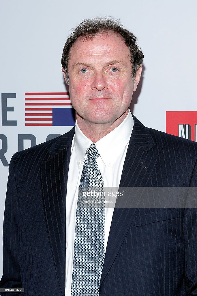 <a gi-track='captionPersonalityLinkClicked' href=/galleries/search?phrase=Boris+McGiver&family=editorial&specificpeople=4640137 ng-click='$event.stopPropagation()'>Boris McGiver</a> attends the Netflix's 'House Of Cards' New York Premiere at Alice Tully Hall on January 30, 2013 in New York City.