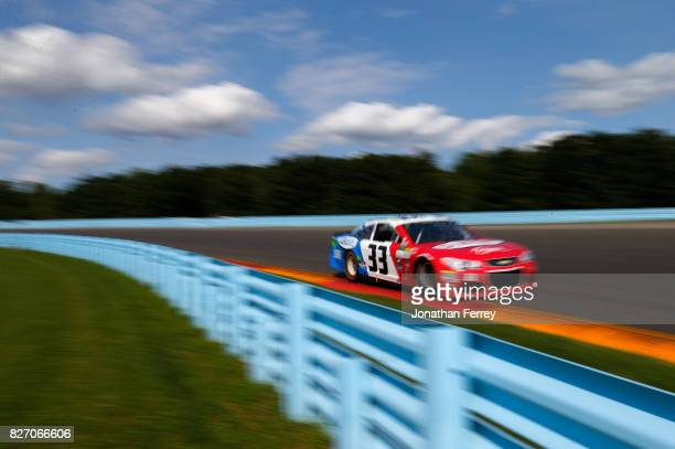 Boris Said driver of the Genesee Beer/Genesee Light Chevrolet drives during the Monster Energy NASCAR Cup Series I Love NY 355 at The Glen at Watkins...