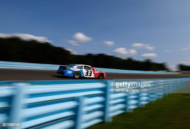 Boris Said driver of the Genesee Beer/Genesee Light Chevrolet drives Boris Saidduring the Monster Energy NASCAR Cup Series I Love NY 355 at The Glen...