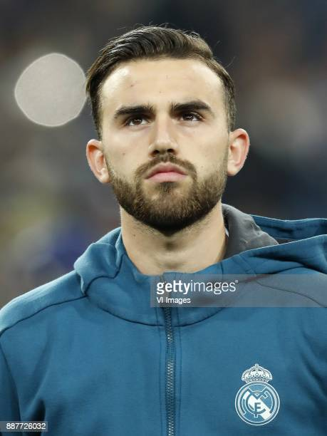 Borja Mayoral of Real Madrid during the UEFA Champions League group H match between Real Madrid and Borussia Dortmund on December 06 2017 at the...