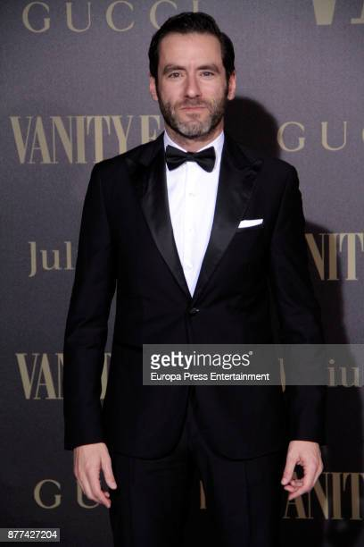 Borja Semper attends the gala 'Vanity Fair Personality of the Year' to Garbine Muguruza at Ritz Hotel on November 21 2017 in Madrid Spain