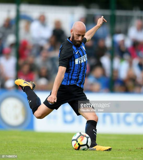 Borja Valero of FC Internazionale in action during the PreSeason Friendly match between FC Internazionale and Nurnberg on July 15 2017 in Bruneck...