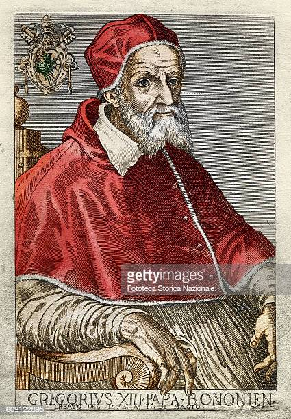 Born Ugo Boncompagni in Bologna elected in 1572 died in 1585 He reformed the calendar starting from October 4 1582 In Italy Poland Portugal and Spain...
