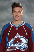 Borna Rendulic of the Colorado Avalanche poses for his official headshot for the 20142015 NHL season on September 18 2014 in Denver Colorado