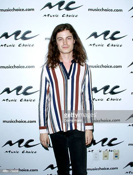 Borns appears at Music Choice on September 17 2015 in New York City