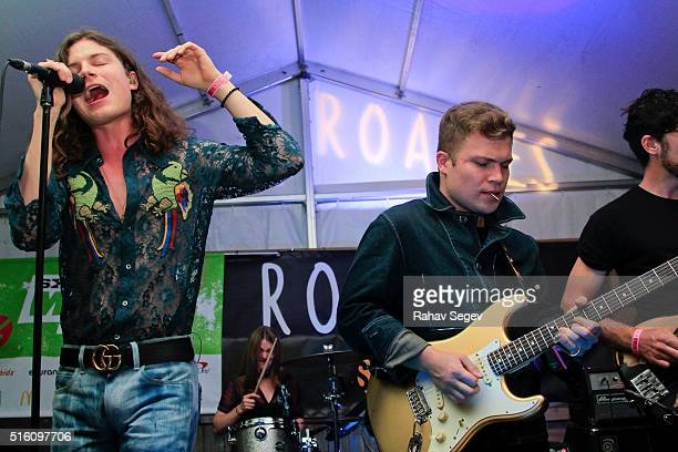 Borns performs at SHOWTIME Roadies House at SXSW 2016 at The Clive Bar