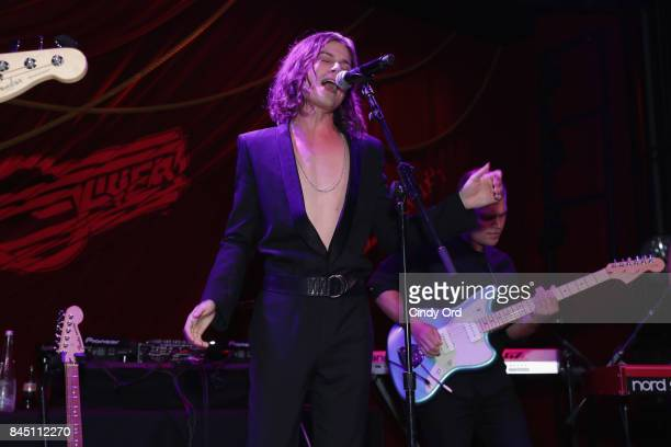 Borns performs onstage at the #BoF500 gala dinner during New York Fashion Week Spring/Summer 2018 at Public Hotel on September 9 2017 in New York City