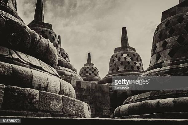 Borobudur mystic view