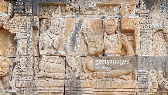 Borobudur temple in Indonesia : Stock Photo