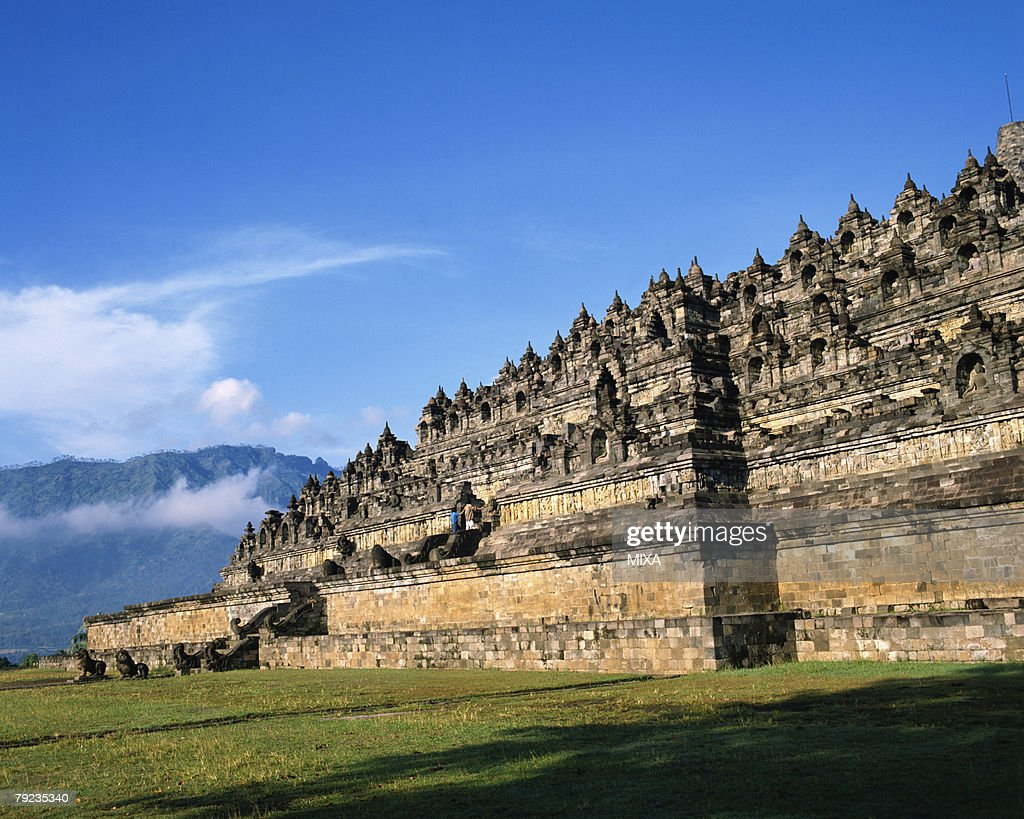 Borobudur Temple, Java, Indonesia : Stock Photo