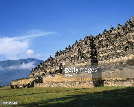 Borobudur Temple, Java, Indonesia : Stock Photo