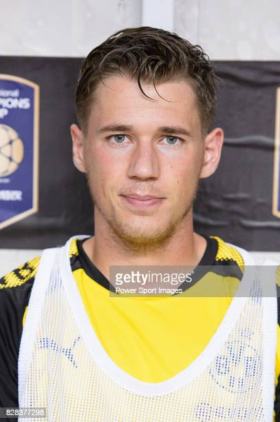 Borussia Dortmund Defender Erik Durm during the International Champions Cup 2017 match between AC Milan vs Borussia Dortmund at University Town...