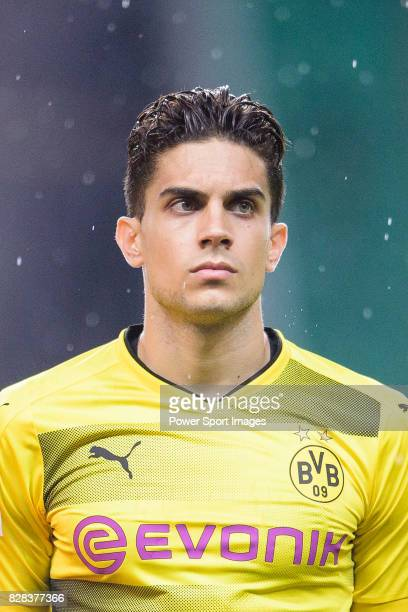 Borussia Dortmund Defender Marc Bartra getting into the field during the International Champions Cup 2017 match between AC Milan vs Borussia Dortmund...