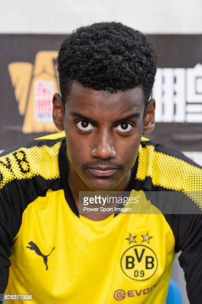 Borussia Dortmund Forward Alexander Isak during the International Champions Cup 2017 match between AC Milan vs Borussia Dortmund at University Town...