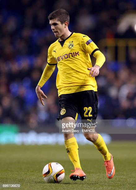 Borussia Dortmund's Christian Pulisic