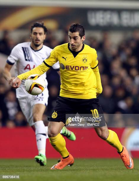 Borussia Dortmund's Henrikh Mkhitaryan