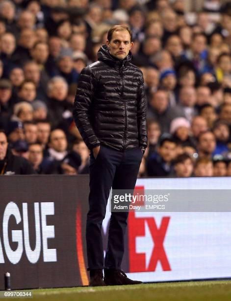 Borussia Dortmund's manager Thomas Tuchel