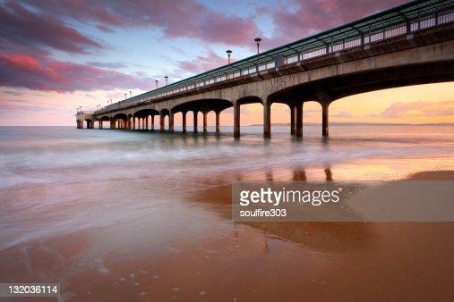Boscombe Pier : Stock Photo