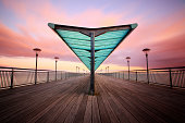 'Boscombe Pier in Bouremouth, Dorset.'