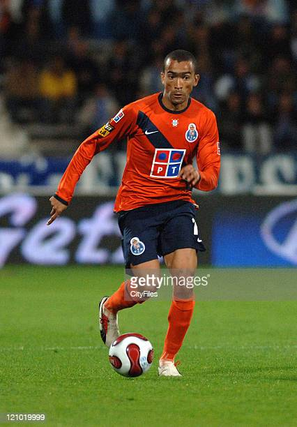 Bosingwa during Portuguese Bwin League Belenenses vs Porto November 26 2006 at Belenenses in Lisbon Portugal