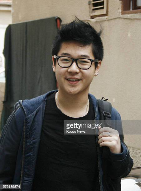 MOSTAR Bosnia and Herzegovina A boy believed to be Kim Han Sol a son of Kim Jong Nam North Korean leader Kim Jong Il 's eldest son smiles in front of...