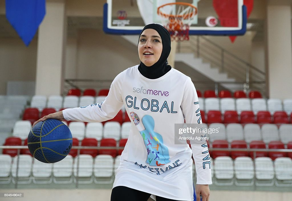 Bosnian Professional Basketball Player Indira Kaljo, 27, Who Received  Approval From FIBA To Wear