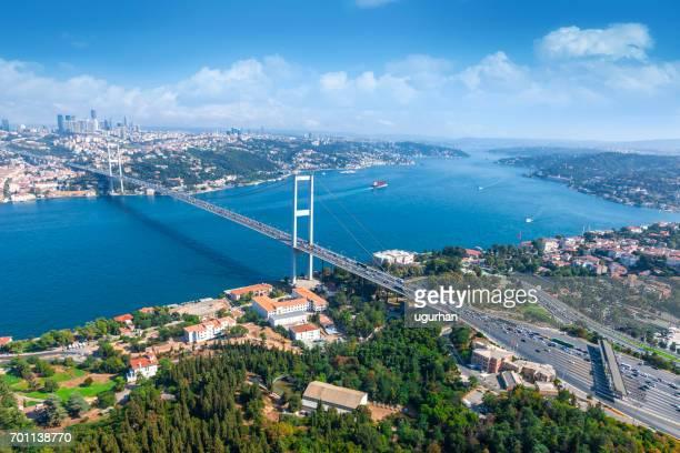 Bosphorus bridge in İstanbul