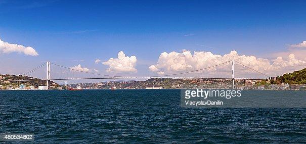Bosphorus bridge ,イスタンブール,トルコ : ストックフォト