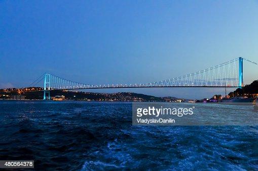 Bosphorus bridge, Istanbul, Turkey : Stock Photo