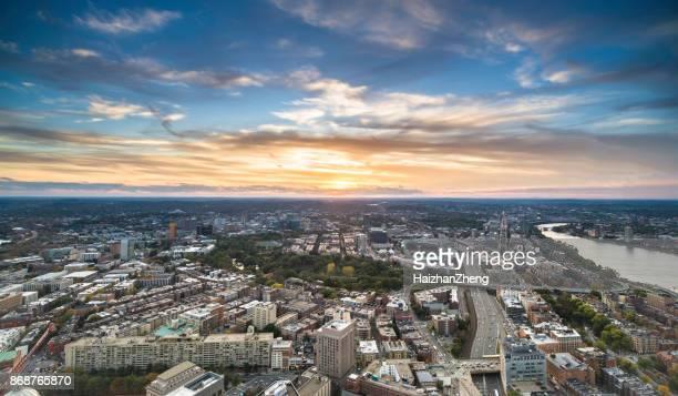 Boston – Luftaufnahme