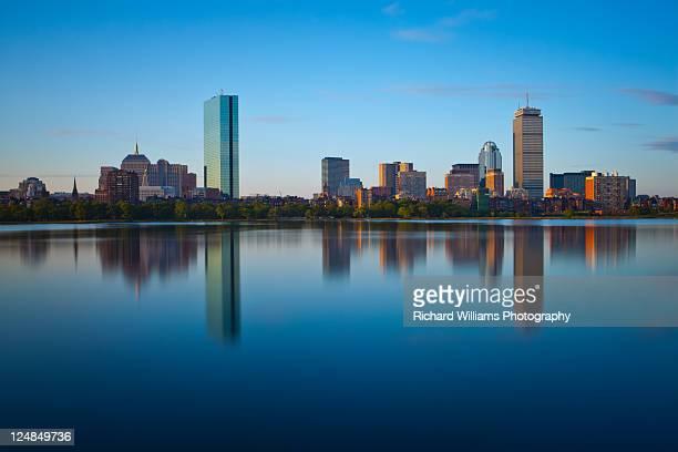 Boston after sunrise