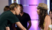 Boston Auditions Judge Jennifer Lopez with contestant Stephanie Hanvey AMERICAN IDOL XIII begins with a twonight fourhour premiere Wednesday Jan 15...