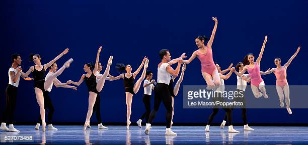 Boston Ballet Company performing at The London Coliseum UK Symphony in Three movements