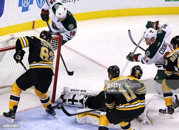 Minnesota Wild Vs Boston Bruins At Td Garden Pictures