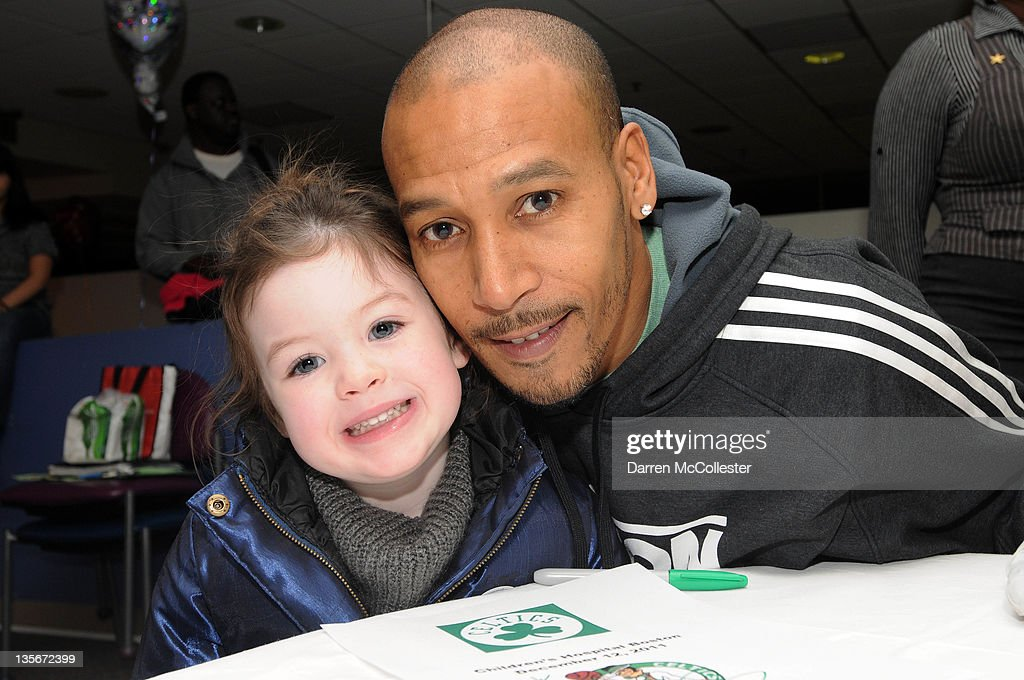 Boston Celtics Holiday Visit At Children's Hospital Boston