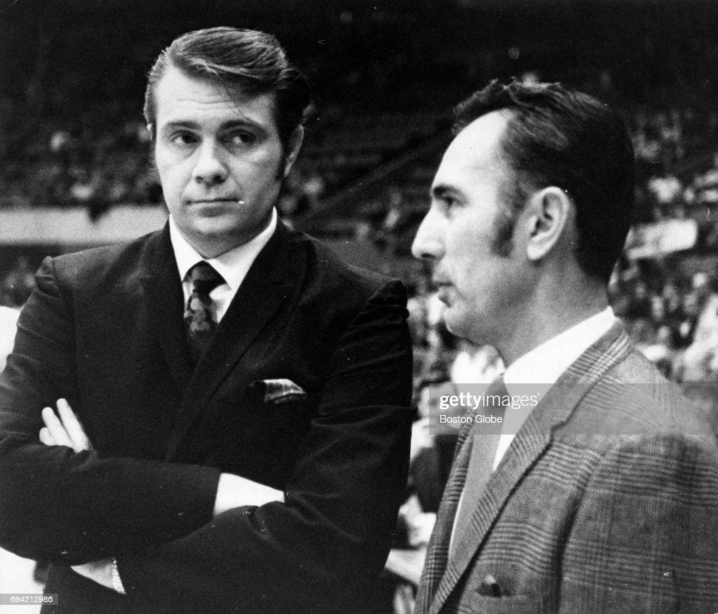 Former Celtics Teammates Tom Heinsohn And Bob Cousy