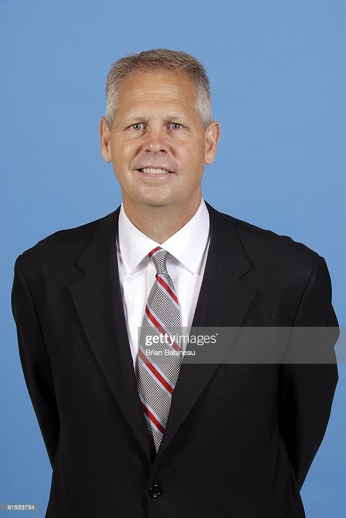 Boston Celtics general manager Danny Ainge poses for a portrait during the 2009 NBA Media Day on September 28, 2009 at Healthpoint in Waltham, Massachusetts.