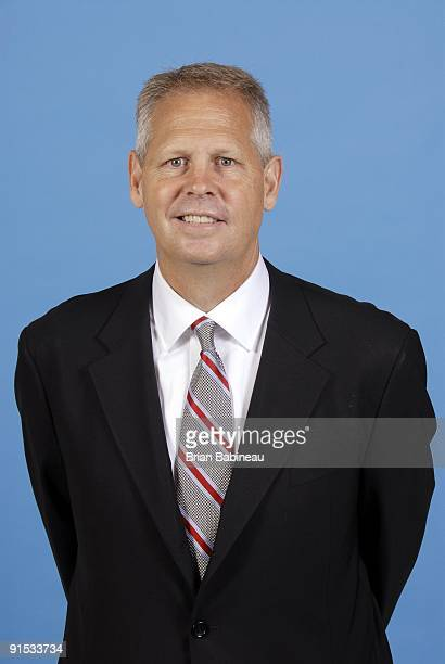 Boston Celtics general manager Danny Ainge poses for a portrait during the 2009 NBA Media Day on September 28 2009 at Healthpoint in Waltham...