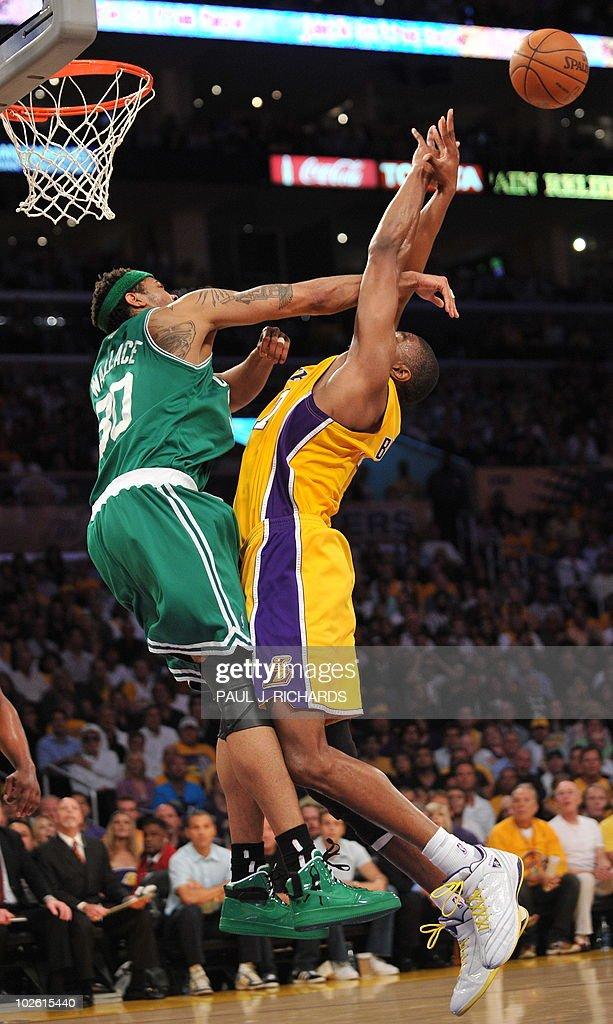 2010 Nba Finals Los Angeles Lakers Vs Boston Celtics In ...