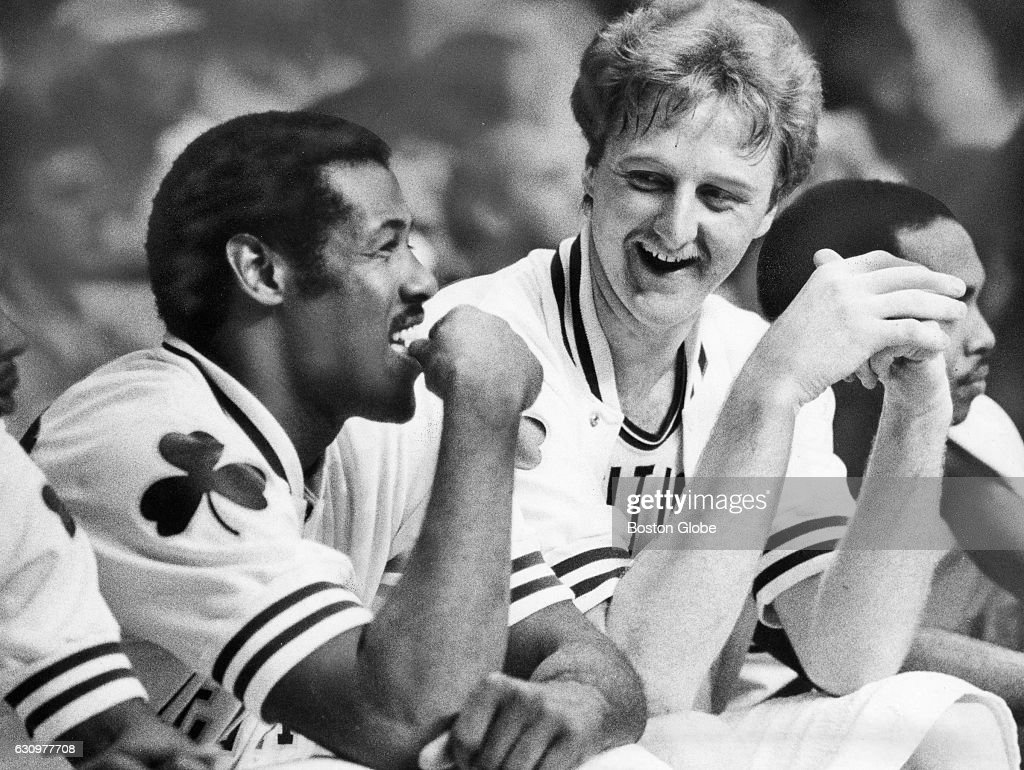 Boston Celtics Larry Bird And M L Carr