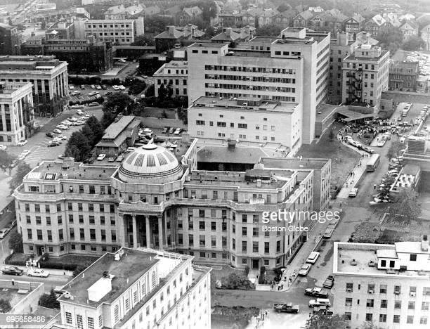 Boston Children's Hospital is pictured on Aug 8 1963 Patrick Bouvier Kennedy the son of President John F Kennedy and Jacqueline Kennedy was...