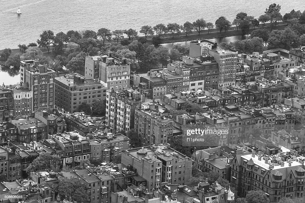 Boston cityscape : Stock Photo